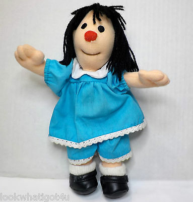 "Big Comfy Couch Plush Molly doll 9""H 1997 commonwealth toy"