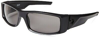 New Spy Optic Hielo Wrap Sunglasses - MATTE BLACK - GRAY POLARIZED