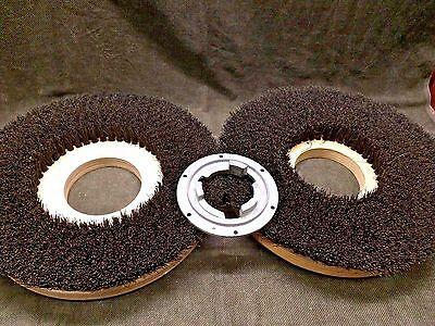 """2 each NEW Scrubber Brush 16"""" Replacement Blank centers"""