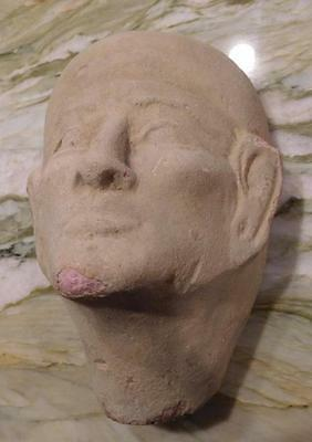Ancient, Egyptian Priest's Head (Large) from Alexandria, (PH20161)  *SPECIAL*