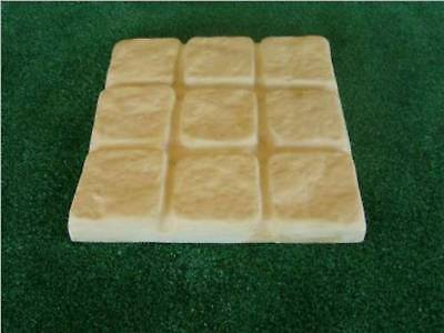10 x  Cobblestone Garden Paver Maker Moulds Molds Mold Paving Bulk Buy NEW Patio