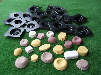 Soap & Candle  Moulds  - 20 Molds  Moulds Soap Melts - NEW- Beautiful Selection