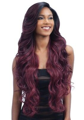 V-003 - Freetress Equal Synthetic Premium V Shaped Lace Front Wig Loose Deep
