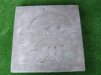 Paver Maker Mould With Dolpins --- Make Your Own Pavers Patio Paving