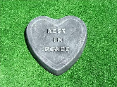 Memorial Stone Rest In  Peace Mould Plaque Marker