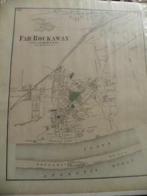 F.W. Beers, Comstock, Cline, 1873 Atlas of Long Island: Plate 111, FAR ROCKAWAY