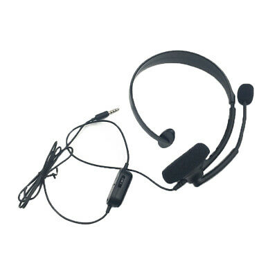 3.5MM JACK GAMING Chat Wired Headset w/ Microphone for XBOX ONE/ONE ...