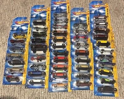 Hot Wheels 2007 First Editions And New Models