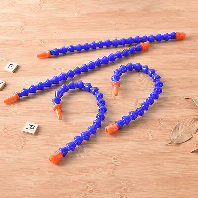 6 x 30cm Plastic Flexible Water Oil Coolant Pipe Hose F-