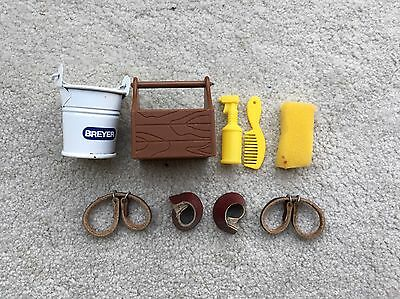 Retired Lot Breyer Horse Traditional Accessory Stable Grooming Supplies Hobbles