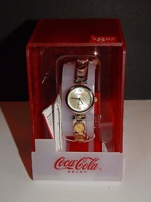 Early 2000's Coca Cola Battery Operated Watch Cap Band New In Package