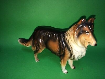 Collie Dog Figurine H80521 Lefton? Royal Doulton?