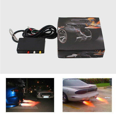Fire Breathing Exhaust Anti-Lag REV Limiter Launch Controller Flame Thrower Kit