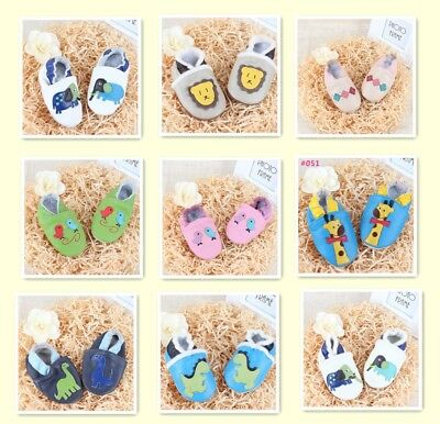 Leather Infant Baby Shoes Boots Prewalker Boy Girl Soft Sole Crib Kids Toddler