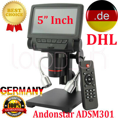 ANDONSTAR Digital ADSM301 Microscope for Mobile Phone Watch Rapair Soldering DHL