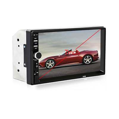 """7018B 7"""" touch screen Bluetooth V2.0 Car Audio Stereo MP5 Player AUX FM USB"""