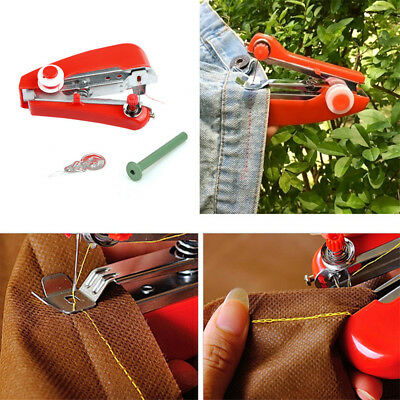 Mini Sewing Machine Clothes Fabrics Sewing Tool Household Products Handy Stitch
