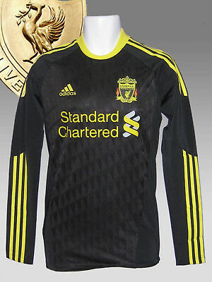 New adidas LIVERPOOL Football Club 2010 2011 Player Issue 3rd Shirt TechFit   L