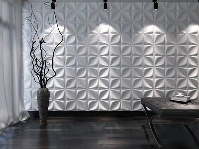 *ether* 3d Decorative Wall Panels 1 Pcs Abs Plastic Mold For Plaster Concrete Stamps, Forms & Mats Crafts