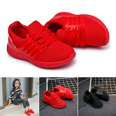 Baby Kids Girls Boys Toddler Child Infant Casual Sports Running Trainers Shoes
