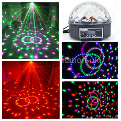 LED Discokugel Lichteffekt Magic RGB DJ Party lichtorgel Bühnenbeleuchtung DE