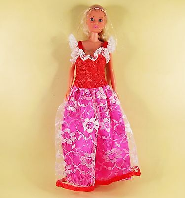 Clothes Party Dress Gown Outfit SIMBA Barbie Doll + Young Pretty Figure Body K79