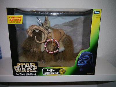 Star Wars / The Power of Force / Bantha and Tusken Raider / Kenner Hasbro
