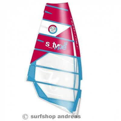 North Sails S Type 7,8m²  2017 Windsurf Segel Freerace Camber