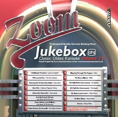 Zoom Karaoke Jukebox Classic Oldies Series CD+G - Volume 17
