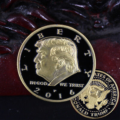 USA President Donald Trump VS In God We Trust Commemorative Coin Souvenir New