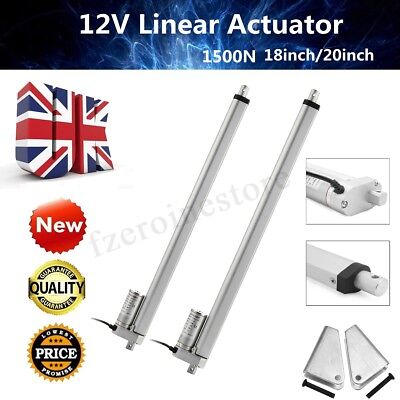 12V Linear Actuator Electric Motor 1500N Max Load Opener Heavy Duty Lifting