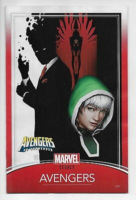 Avengers #675 - Legacy Trading Card Variant (Marvel, 2018) - New/Unread (NM)