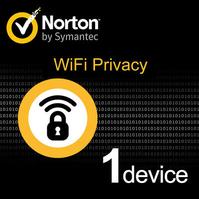 NORTON WIFI Privacy VPN 2019 1 PC 1 anno PC MAC ANDROID KEY 2018 IT EU