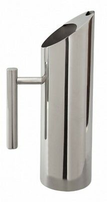 Mezclar Polished Finish Stainless Steel 1.5 Litre Water Pitcher Jug Ice Guard