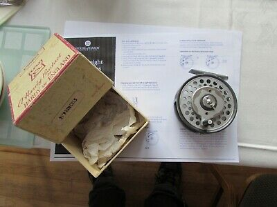 good rare vintage hardy princess multiplier trout fly fishing reel 3.5""
