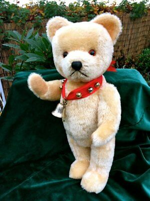 Antique / Vintage Austrian  Berg Mohair Teddy Bear Circa 1950s