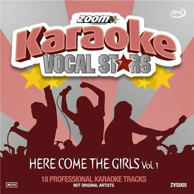 Zoom Karaoke Vocal Stars Series Volume 5 CD+G - Here Come The Girls (Vol.1)