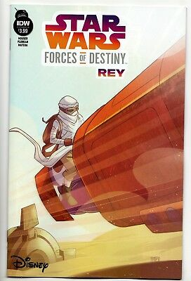 Star Wars Forces Of Destiny: Rey One-Shot / Cover A (IDW, 2018) - New (NM)