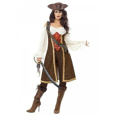 Female Pirate Costume Adult Halloween Fancy Dress