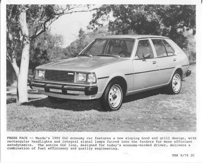 1980 Mazda GLC ORIGINAL Factory Photo oua1113