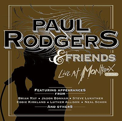 Paul Rodgers & Friends ~ Live at Montreux NEW SEALED CD ( Free, Bad Company )