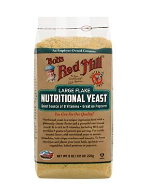 Bob's Red Mill Large Flake Nutritional Yeast, Gluten-Free, 8 Ounces, Kosher