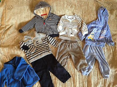 Mixed Lot of 8 PCS Boys Clothes (Carter's, Little me,Oshkosh,...) size 9 months.