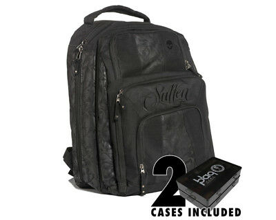 SULLEN Blaq Paq Onyx Kit Tattoo Artist Travel Backpack with 2 cases Art Supply