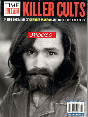 Time Life Special Edition 2018, Killer Cults, Brand New/Sealed, Charles Manson