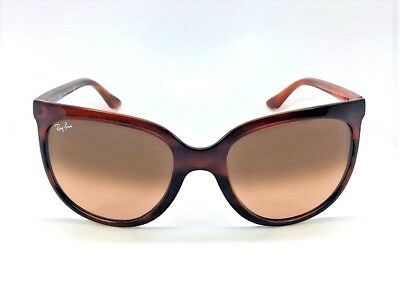 4169fef6d9 Ray Ban RB4126 CATS 820 A5 Stripped Havana   Pink Gradient Brown 57mm  Sunglasses