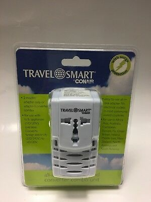 Conair Travel Smart All-In-One Adapter and Converter Combo Unit