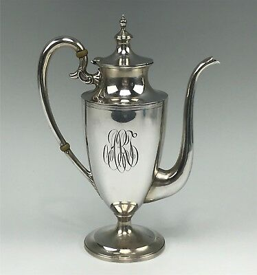 Antique International Sterling Silver Small Individual Coffee Pot