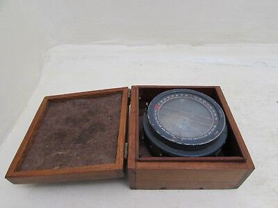 Vintage RAF WWII Military Aircraft Compass Type P6 Spitfire/Hurricane