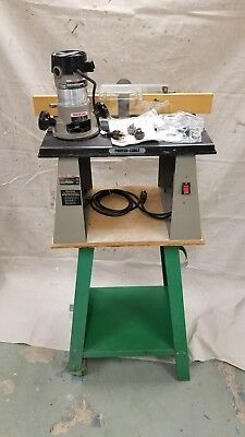 Porter Cable Router Table Model 698 and Router Model 6912 with Accessories!